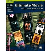 Alfred Music Publishing Ultimate Movie Solos Clarinet