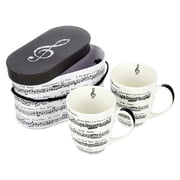 Musikboutique Hahn Handle Cup Set in Gift Box