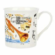 Music Sales Noble Coffee Mug Trumpet