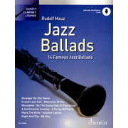 Schott Jazz Ballads Clarinet