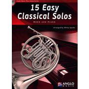 De Haske 15 Easy Classical Solos Horn