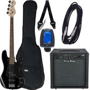 Fender SQ Affinity P-Bass BK Bundle2