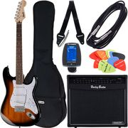 Fender SQ Bullet Strat RW SB Bundle3