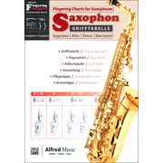 Alfred Music Publishing Fingering Chart f. Saxophone