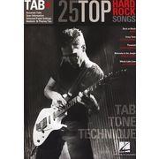 Hal Leonard Tab+25 Hard Rock Songs