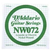 Daddario NW072 Single String