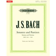Edition Peters Bach Sonatas Partitas Violin