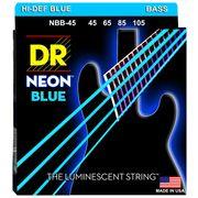 DR Strings HiDef Blue Neon Medium4 45-105