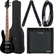 Harley Benton B-550 Black Progressive Set 2