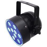 Eurolite LED PAR-56 QCL 9x8W Short bk