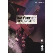 Weinberger Musikverlag Bass Like The Greats