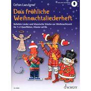 Schott Fröhliche Weihnachtslieder Fl