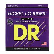 DR Strings Lo Rider 45-130 Nickel