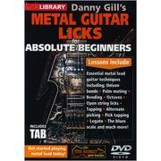 Music Sales Metal Guitar Licks Beginners