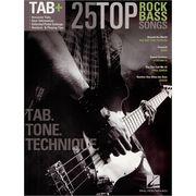 Hal Leonard 25 Top Rock Bass Songs