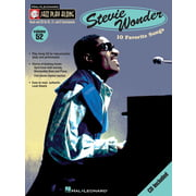 Hal Leonard Jazz Play-Along Stevie Wonder