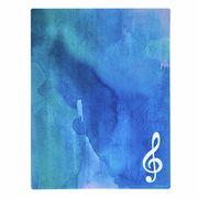 A-Gift-Republic Mousepad G-Clef Blue/White
