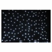 Showtec Stardrape 3x6m White LED