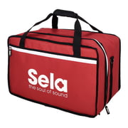Sela SE 038 Cajon bag Red