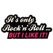 Bandshop Sticker It´s only Rock´n Roll