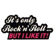 Bandshop Sticker It´s only Rock´n Roll