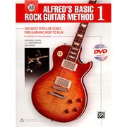 Alfred Music Publishing Basic Rock Guitar 1 +DVD