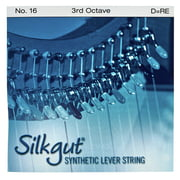 Bow Brand Silkgut 3rd D Harp Str. No.16