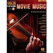 Hal Leonard Violin Play-Along:Movie Music