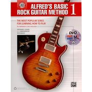 Alfred Music Publishing Basic Rock Guitar 1+SpecialDVD