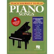 Hal Leonard Teach Yourself To Play Piano