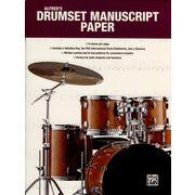 Alfred Music Publishing Drumset Manuscript Paper