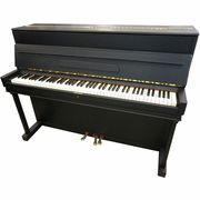 Seiler Piano, used, black