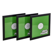 "Glorious 12"" Vinyl Frame Set Black"