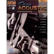 Hal Leonard Guitar PlayAlong Easy Acoustic