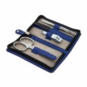 Friedrich Lederwaren Nail File 4-Set Royal Blue