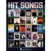 Hal Leonard Hit Songs: Piano/Vocal/Guitar