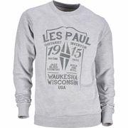 Les Paul Merchandise Sweat Shirt Les Paul 1915 L
