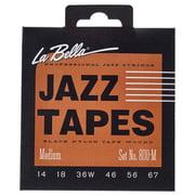 La Bella 800M Jazz Black Nylon M