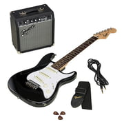 Fender SQ Strat Pack Short Scale BK