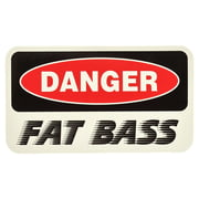 Bandshop Sticker Danger Fat Bass