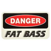 Bandshop Sticker Danger Fat Bass