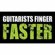 Bandshop Sticker Guitarists Finger