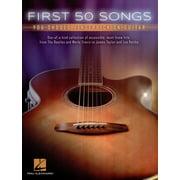 Hal Leonard First 50 Songs Fingerpicking