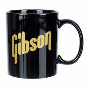 Gibson Black Mug w. Gold Logo