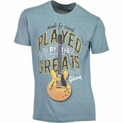 Gibson T-Shirt Played By. Blue XL