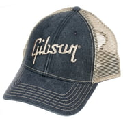 Gibson Baseball Cap Faded Denim