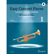 Schott Easy Concert Pieces Trumpet 1