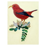 Jockomo Hawaiian Honeycreeper Bird