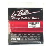 La Bella 750N-CB Black Nylon Tape