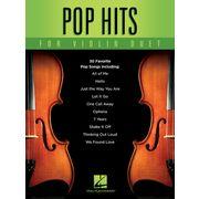 Hal Leonard Pop Hits for Violin Duet